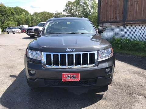 2011 Jeep Grand Cherokee for sale at DRINKWATER'S AUTO SALES & SERVICE in Milford ME