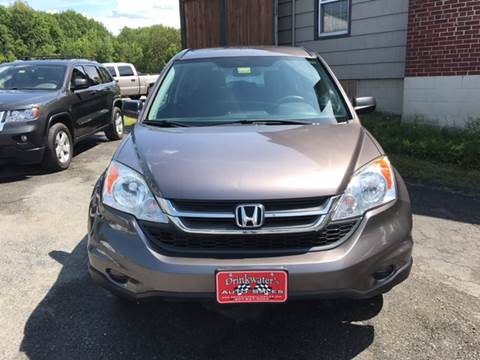 2011 Honda CR-V for sale at DRINKWATER'S AUTO SALES & SERVICE in Milford ME