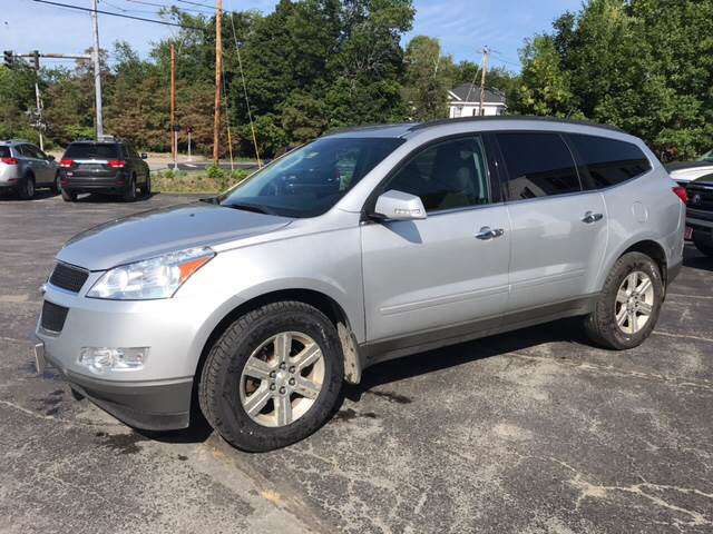 2011 Chevrolet Traverse for sale at DRINKWATER'S AUTO SALES & SERVICE in Milford ME