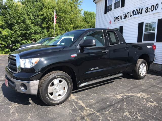 2011 Toyota Tundra for sale at DRINKWATER'S AUTO SALES & SERVICE in Milford ME