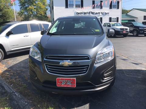 2016 Chevrolet Trax for sale in Milford, ME