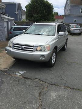2003 Toyota Highlander for sale in Dartmouth, MA