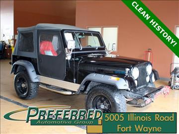 1986 Jeep CJ-7 for sale in Fort Wayne, IN