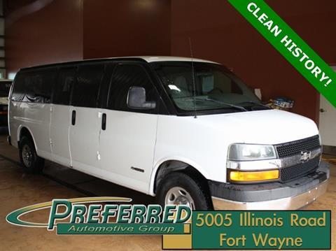 2004 Chevrolet Express Passenger for sale in Fort Wayne, IN