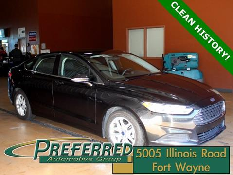 2015 Ford Fusion for sale in Fort Wayne, IN