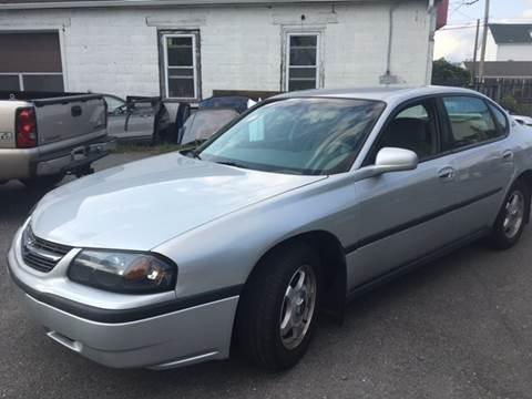 2004 Chevrolet Impala for sale in Cumberland, RI