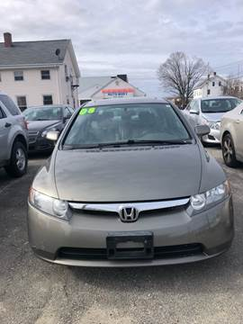 2008 Honda Civic for sale in Cumberland, RI