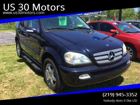 2003 Mercedes-Benz M-Class for sale at US 30 Motors in Merrillville IN