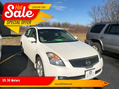 2008 Nissan Altima for sale at US 30 Motors in Merrillville IN