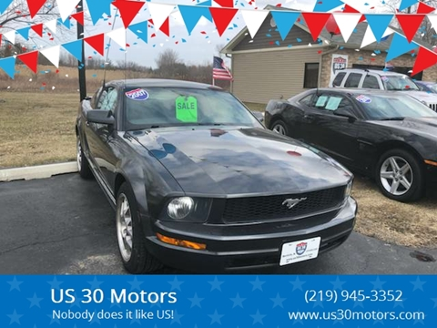 2007 Ford Mustang for sale at US 30 Motors in Merrillville IN