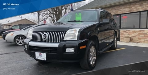 2007 Mercury Mountaineer for sale at US 30 Motors in Merrillville IN