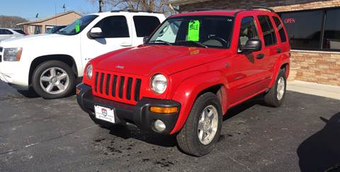 2004 Jeep Liberty for sale at US 30 Motors in Merrillville IN