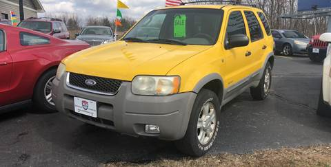 2001 Ford Escape for sale at US 30 Motors in Merrillville IN