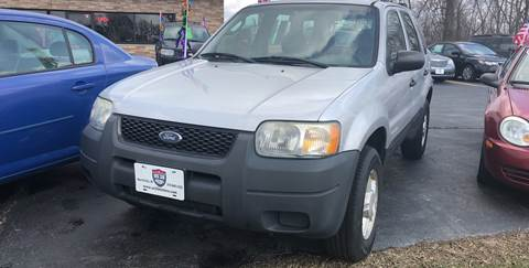 2002 Ford Escape for sale at US 30 Motors in Merrillville IN