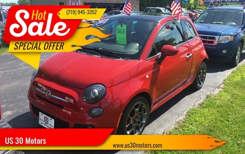 2013 FIAT 500 for sale at US 30 Motors in Merrillville IN