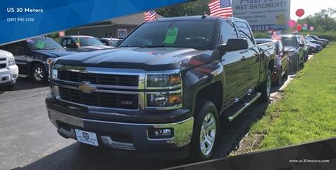 2015 Chevrolet Silverado 1500 for sale at US 30 Motors in Merrillville IN
