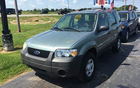 2007 Ford Escape for sale at US 30 Motors in Merrillville IN