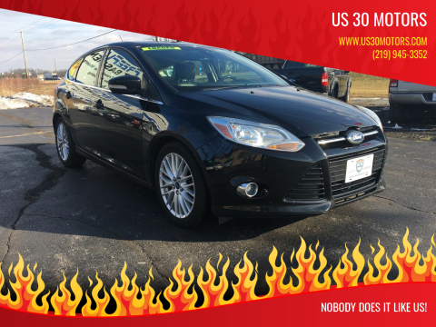 2012 Ford Focus for sale at US 30 Motors in Merrillville IN