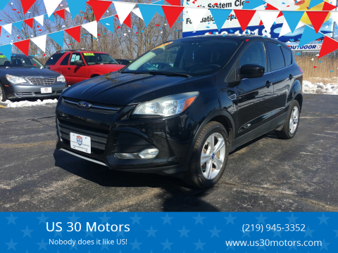 2013 Ford Escape for sale at US 30 Motors in Merrillville IN