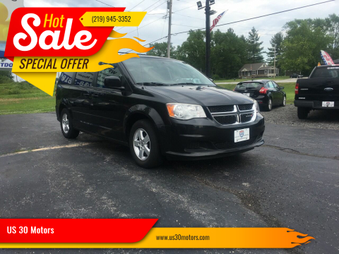 2012 Dodge Grand Caravan for sale at US 30 Motors in Merrillville IN