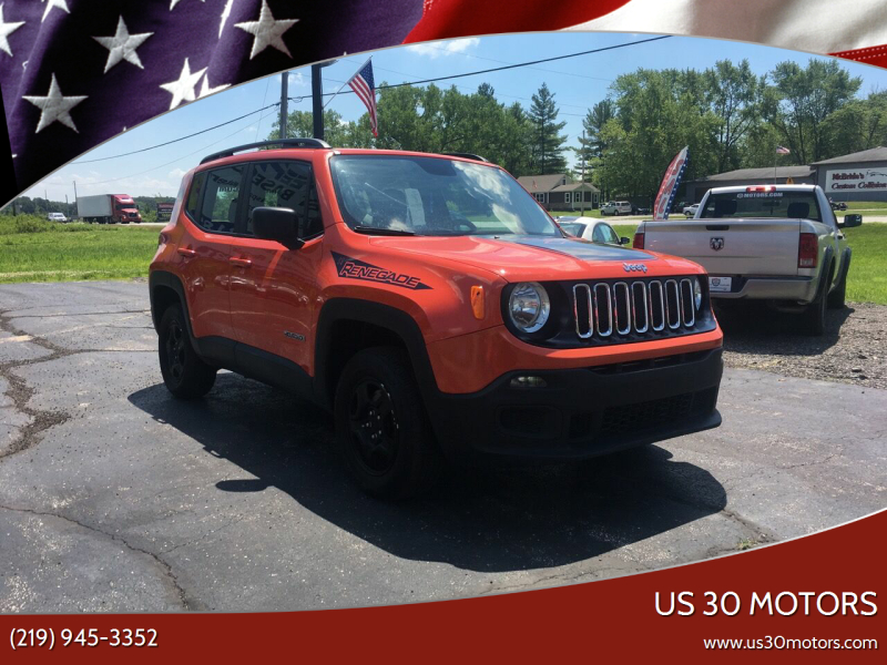 2016 Jeep Renegade for sale at US 30 Motors in Merrillville IN