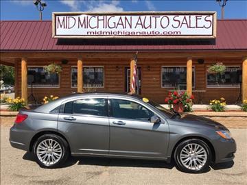 2012 Chrysler 200 for sale in Clare, MI