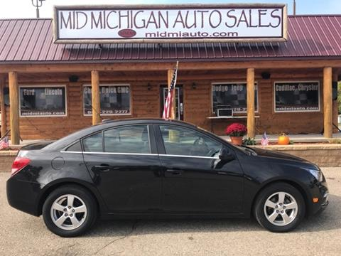 2015 Chevrolet Cruze for sale in Clare, MI