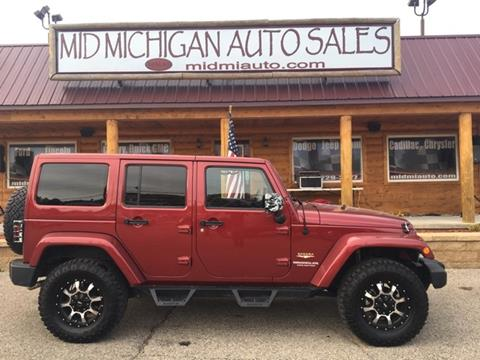 2012 Jeep Wrangler Unlimited for sale in Clare, MI
