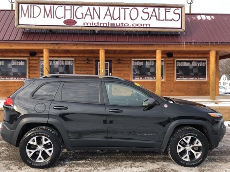 2014 Jeep Cherokee Trailhawk In Clare MI - Mid Michigan Auto Sales