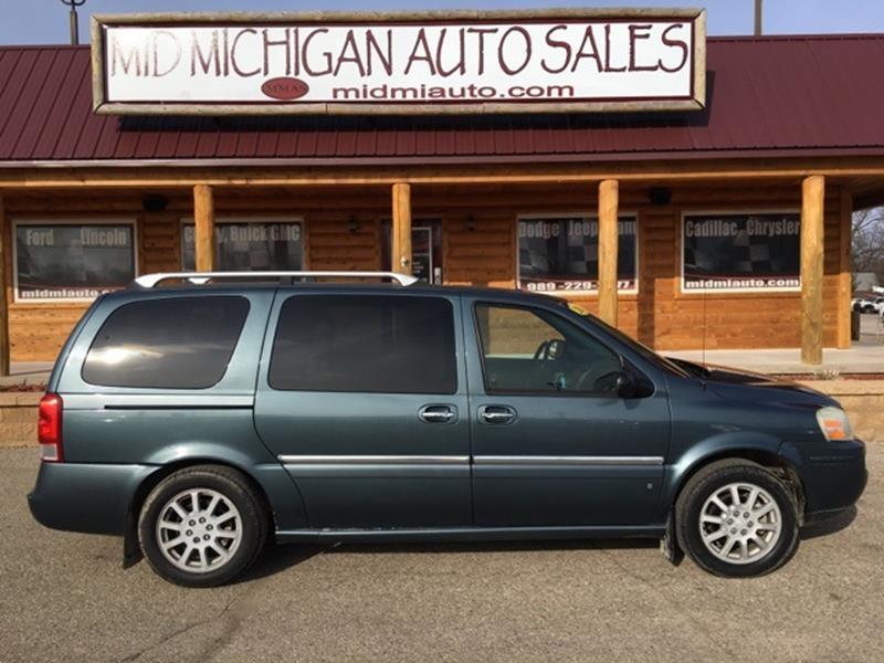 2006 Buick Terraza CXL In Clare MI - Mid Michigan Auto Sales