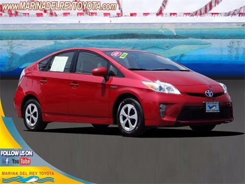2014 Toyota Prius for sale in Marina Del Rey, CA