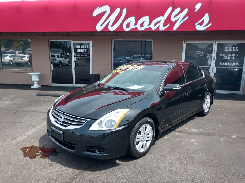 2012 Nissan Altima For Sale At Woodyu0027s Buy Here Pay Here In Arlington TX