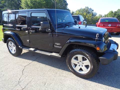 2011 Jeep Wrangler Unlimited for sale in Duncan, SC