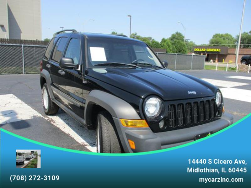 2006 Jeep Liberty For Sale At CARZINC In Midlothian IL