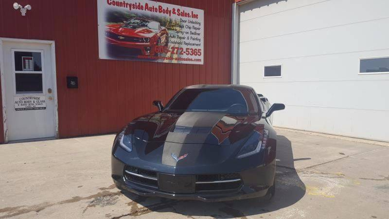 2016 Chevrolet Corvette for sale at Countryside Auto Body & Sales, Inc in Gary SD