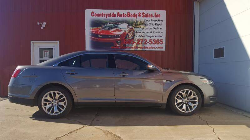 2013 Ford Taurus for sale at Countryside Auto Body & Sales, Inc in Gary SD