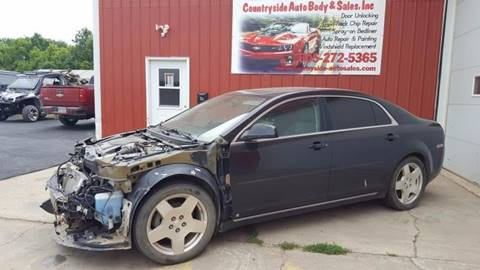 2009 Chevrolet Malibu for sale at Countryside Auto Body & Sales, Inc in Gary SD