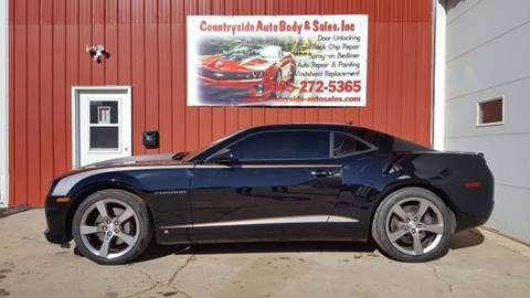 2010 Chevrolet Camaro for sale at Countryside Auto Body & Sales, Inc in Gary SD