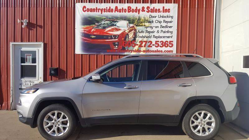 2014 Jeep Cherokee for sale at Countryside Auto Body & Sales, Inc in Gary SD