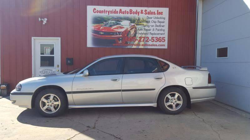 2003 Chevrolet Impala for sale at Countryside Auto Body & Sales, Inc in Gary SD