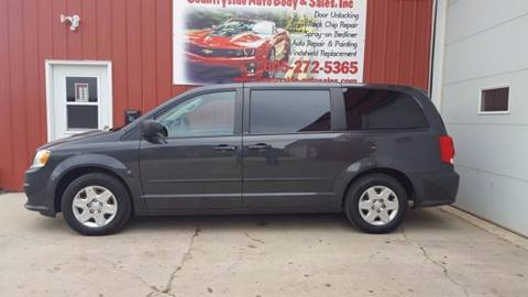 2012 Dodge Grand Caravan for sale at Countryside Auto Body & Sales, Inc in Gary SD