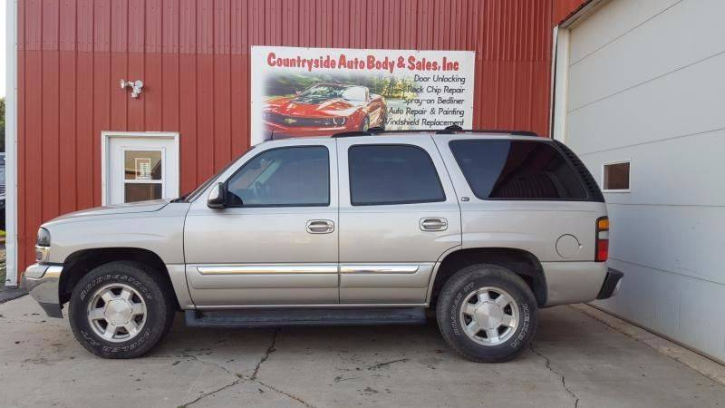 2004 GMC Yukon for sale at Countryside Auto Body & Sales, Inc in Gary SD