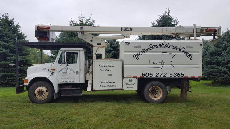 2001 International Boom Truck for sale at Countryside Auto Body & Sales, Inc in Gary SD