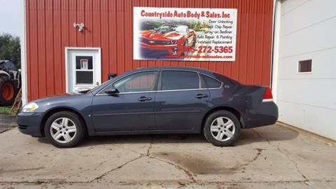 2008 Chevrolet Impala for sale at Countryside Auto Body & Sales, Inc in Gary SD