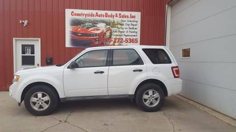 2009 Ford Escape for sale at Countryside Auto Body & Sales, Inc in Gary SD