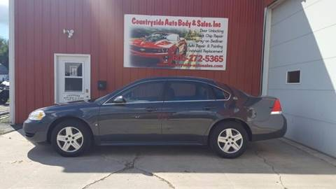 2009 Chevrolet Impala for sale at Countryside Auto Body & Sales, Inc in Gary SD