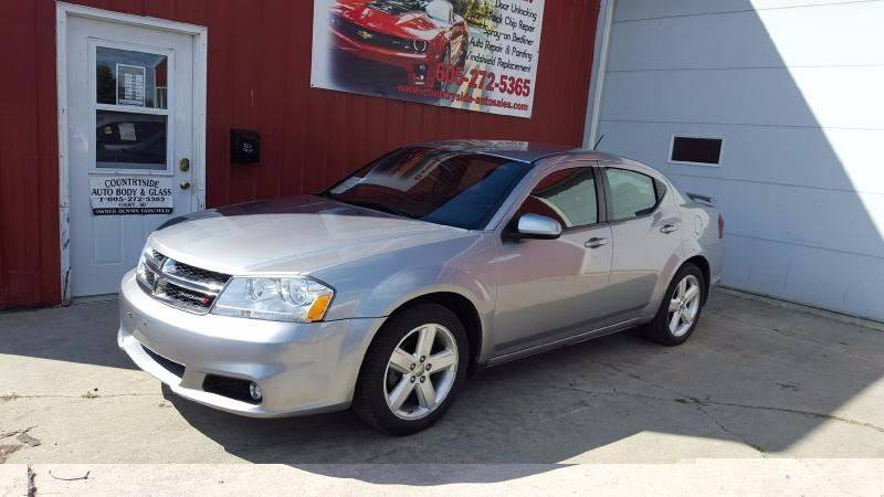 2013 Dodge Avenger for sale at Countryside Auto Body & Sales, Inc in Gary SD