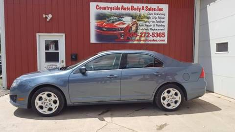 2011 Ford Fusion for sale at Countryside Auto Body & Sales, Inc in Gary SD