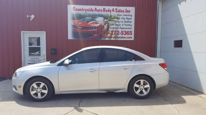 2014 Chevrolet Cruze for sale at Countryside Auto Body & Sales, Inc in Gary SD