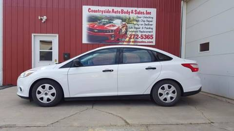2014 Ford Focus for sale at Countryside Auto Body & Sales, Inc in Gary SD